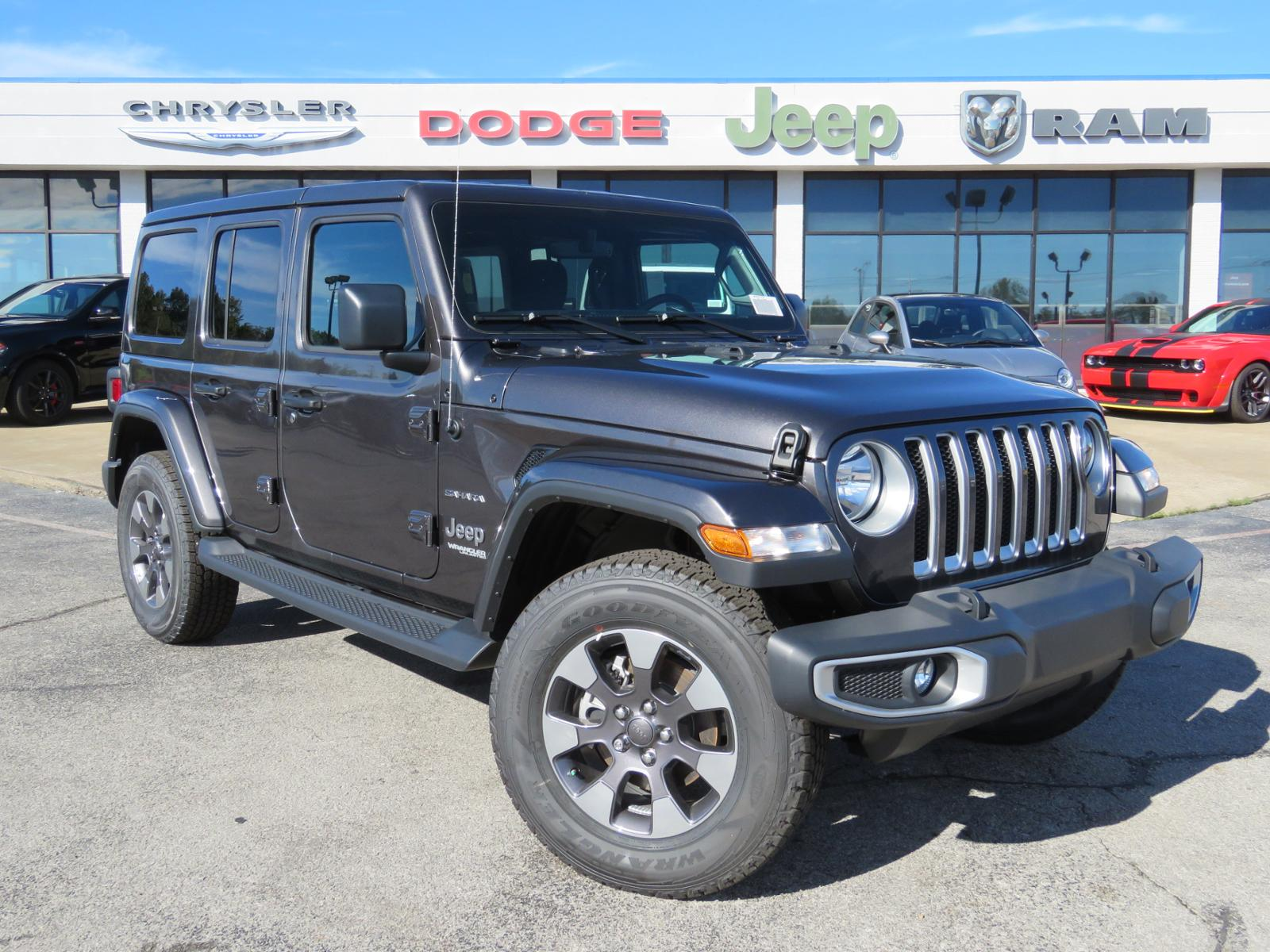 New 2018 JEEP Wrangler Unlimited Unlimited Sahara